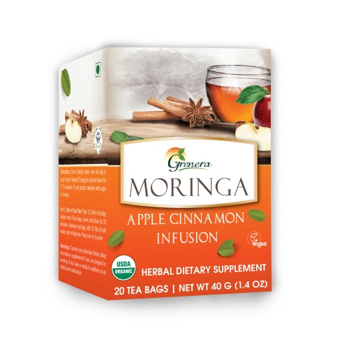 Moringa Apple Cinnamon Infusion