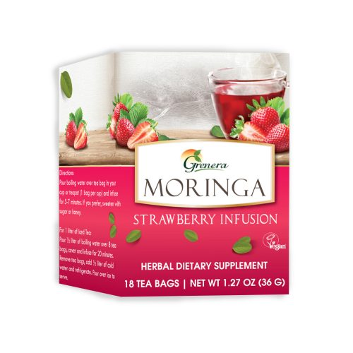 Moringa Strawberry Infusion