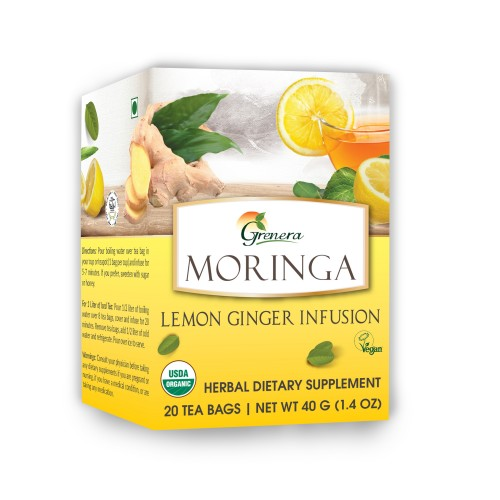 Moringa Lemon Ginger Infusion