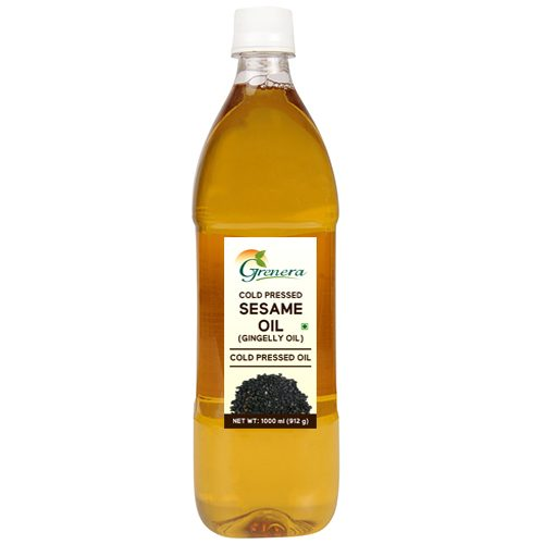 Cold Pressed Sesame Oil 1 Litre (Gingelly Oil)